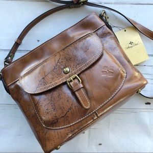Patricia Nash Crossbody Bag Tuscania Map
